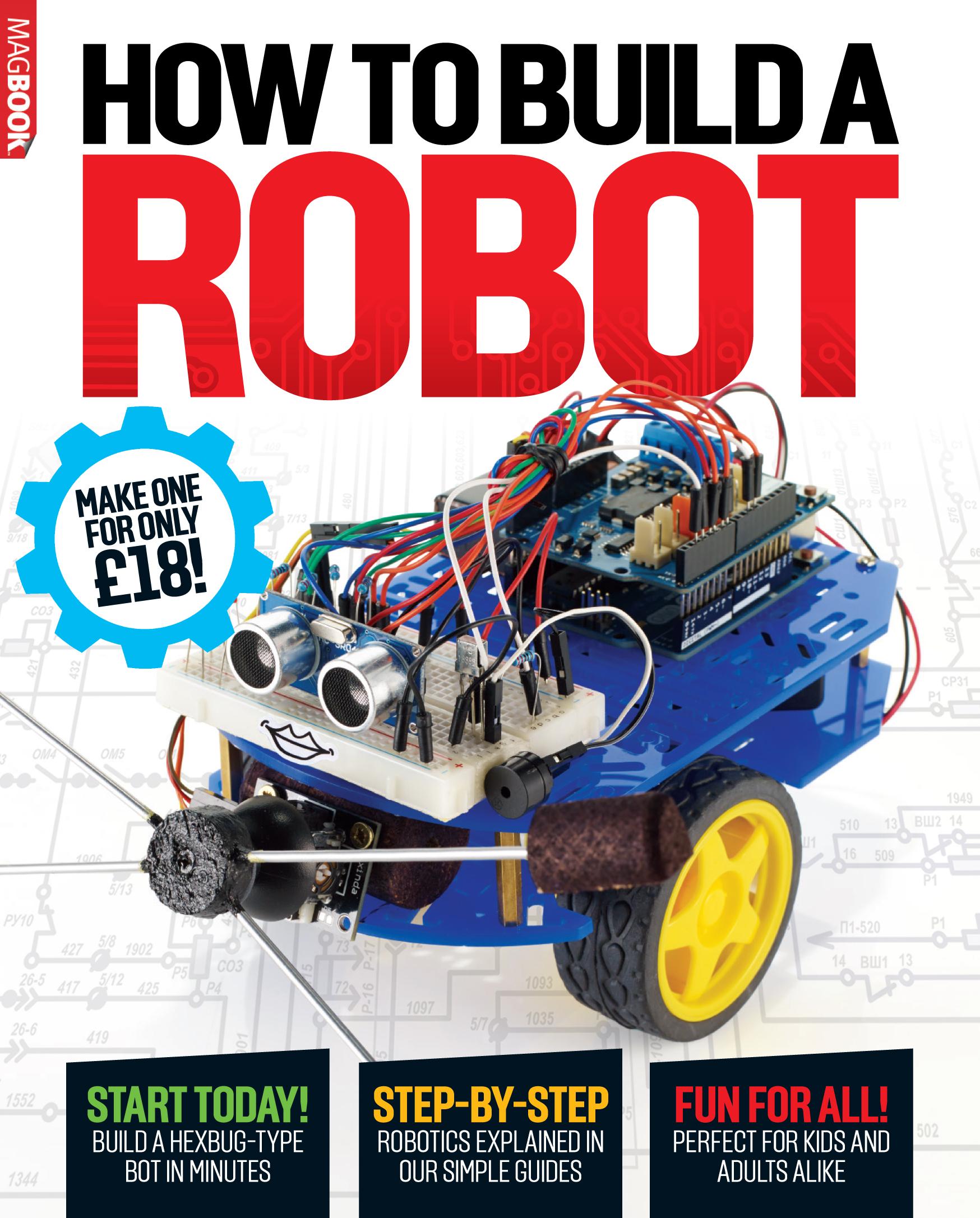 كتاب كيفية بناء روبوت Build